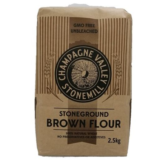 Stoneground Brown Flour (2.5kg)