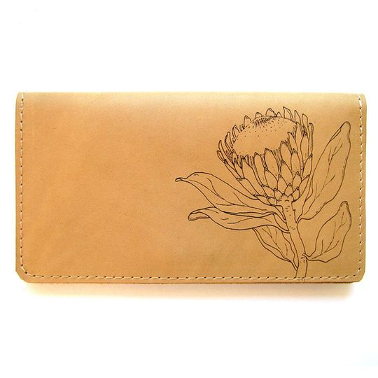 Clutch Purse - Protea