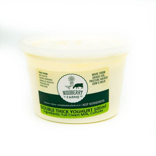 Organic Greek Yoghurt (500ml)