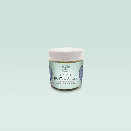 SOARING FREE SUPERFOODS Organic Cacao Body Butter
