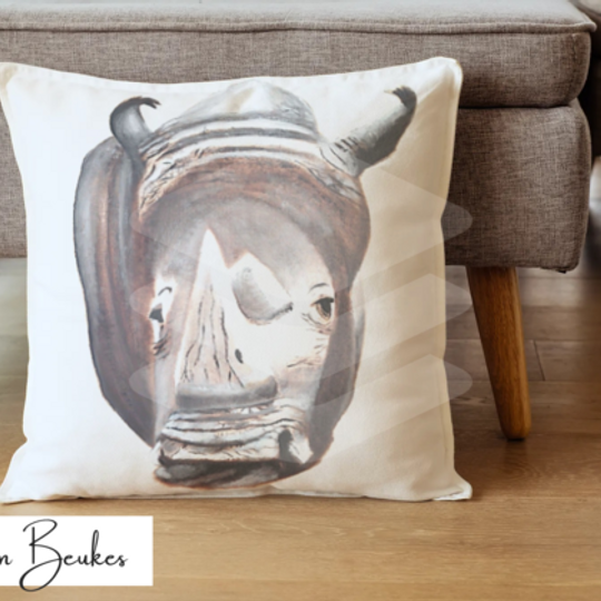 Rhinoceros | Original Cushion