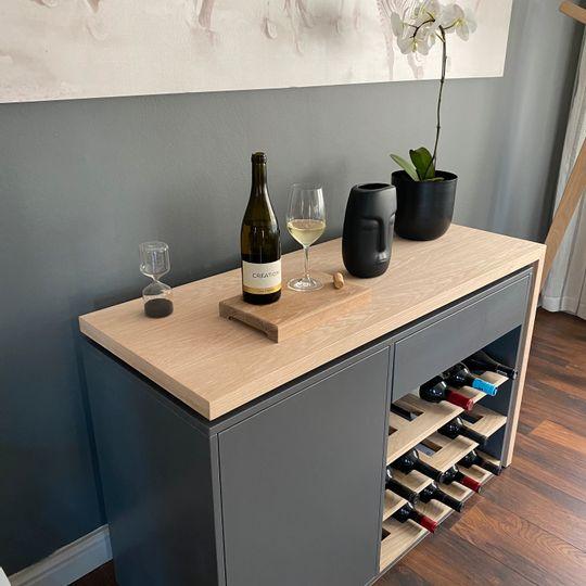 WFH Range: Wine Cabinet Desk