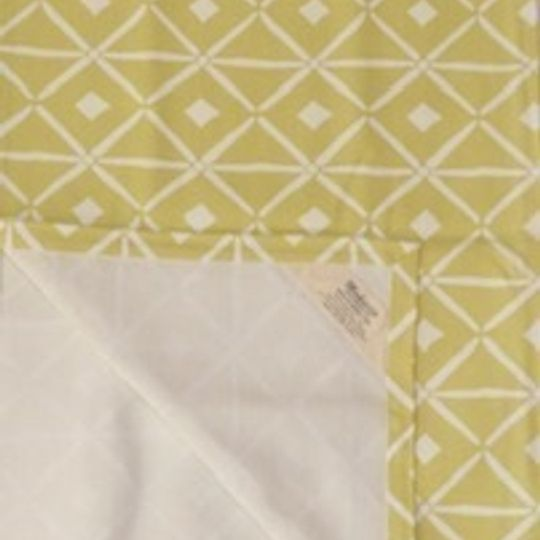 Lemon yellow verandah print runner on 100%cotton