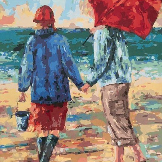 The Seaside Couple