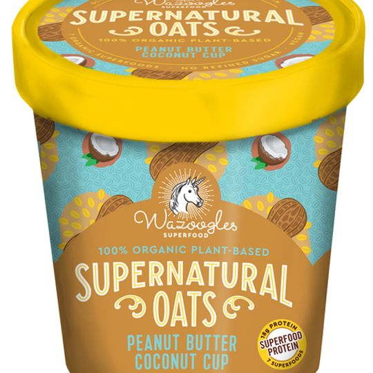 Wazoogles Supernatural Oats - Peanut Butter Coconut Cup pot