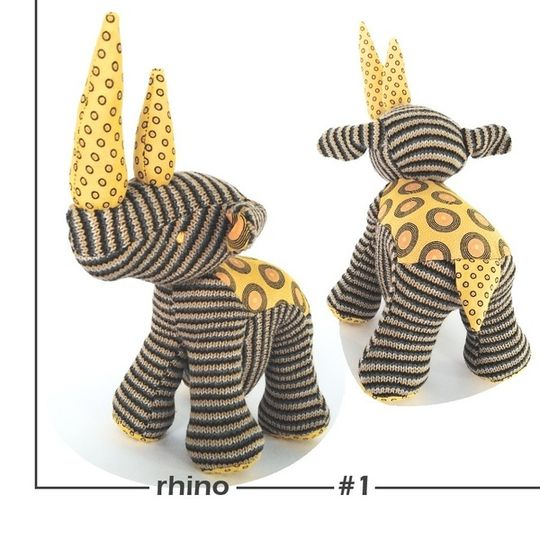 RHINO Soft Toy