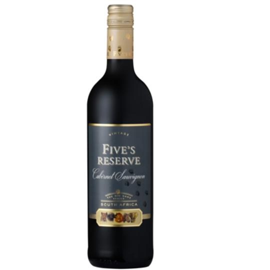 Van Loveren Fives Reserve Range Cabernet Sauvignon Case 6
