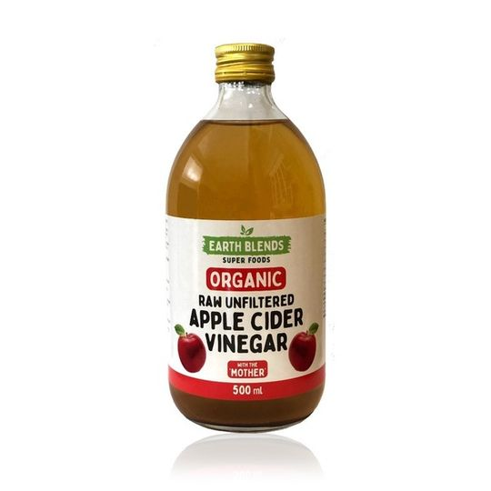 Earthblends Organic Apple Cider Vinegar - (500ml)