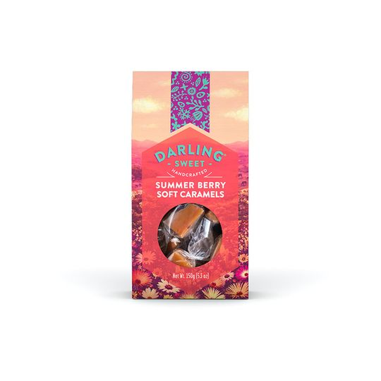 Darling Sweet Summer Berry Soft Caramels