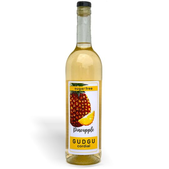 GUDGU SugarFREE Pineapple Cordial 750ml
