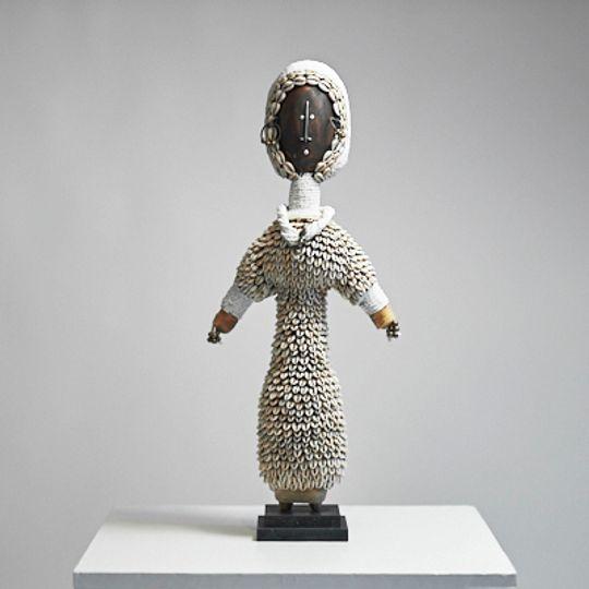 white Damjie doll