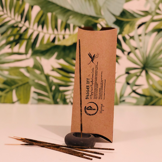 Incense Sticks & Holder - Mosquito & Insect Repellent