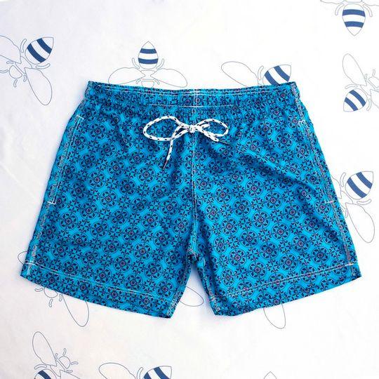 Nautilus Turquoise Shorts