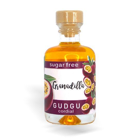 GUDGU SugarFREE Granadilla Mini Cordial 50ml