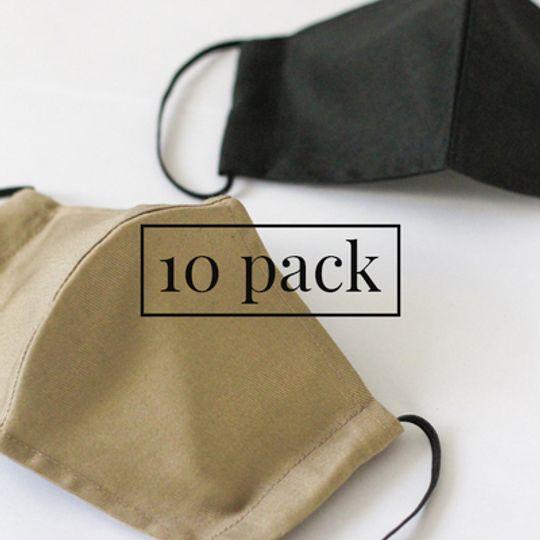 Masks with Pocket - 10 Pack