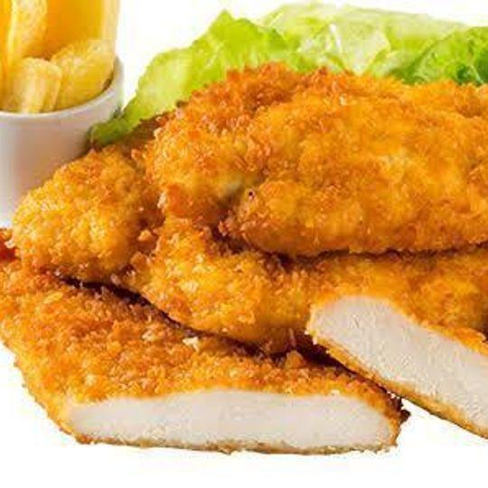 3kg (in 100g) Chicken Steaklets/Crumbed Chicken Breast.