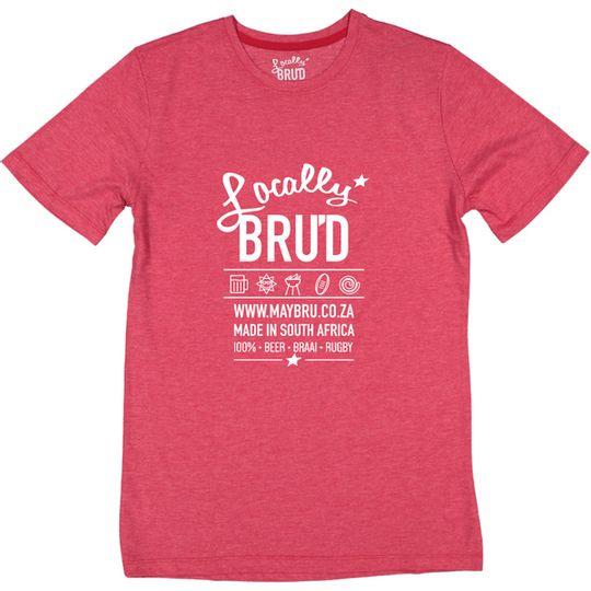 'Locally Brud' Mens Tee