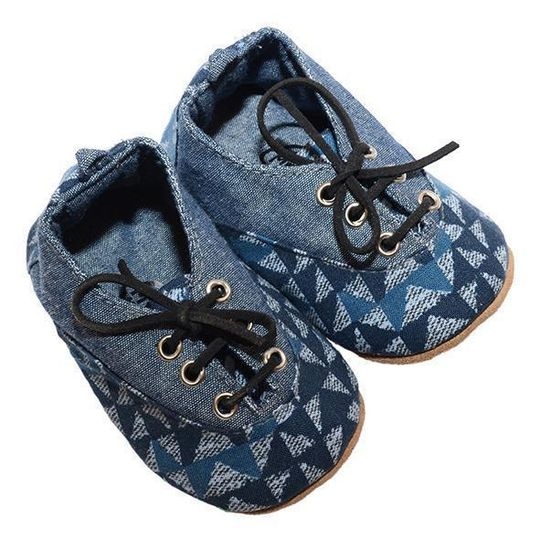 Takkie / Boys - Blue and Grey - M0370
