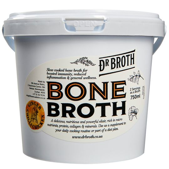 Dr Broth Ginger Chilli Bone Broth (750ml)