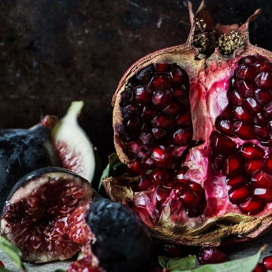 WS Placemats - Pomegranates and fig