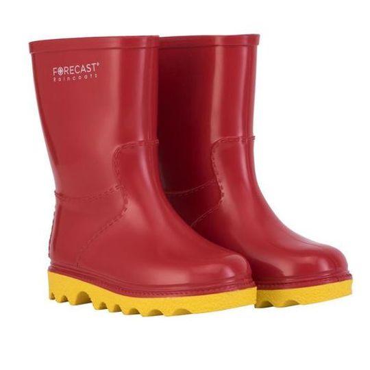 Kiddies Red & Yellow Rain Boot