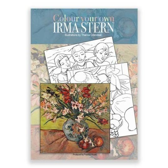 Colour your own Irma Stern