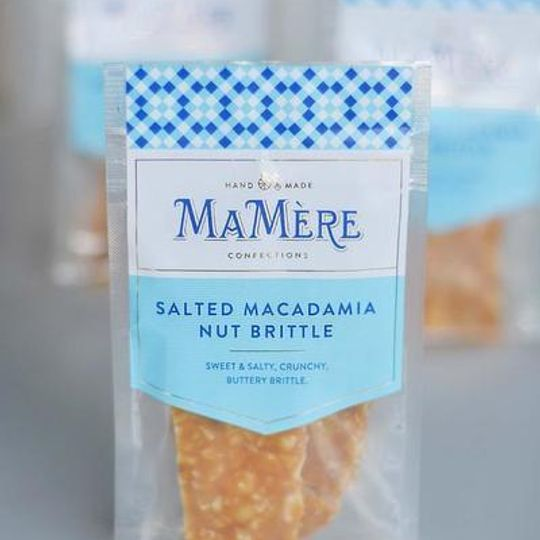 Ma Mère Salted Macadamia Nut Brittle (80g)