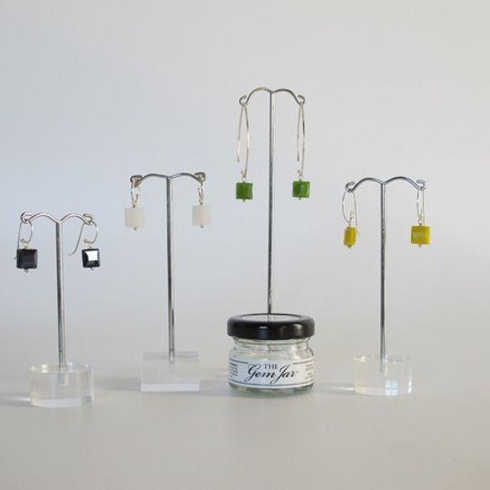 GEM JAR small crystal squares