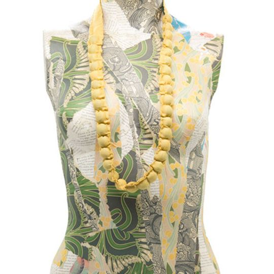 Bobble Beads - Yellow