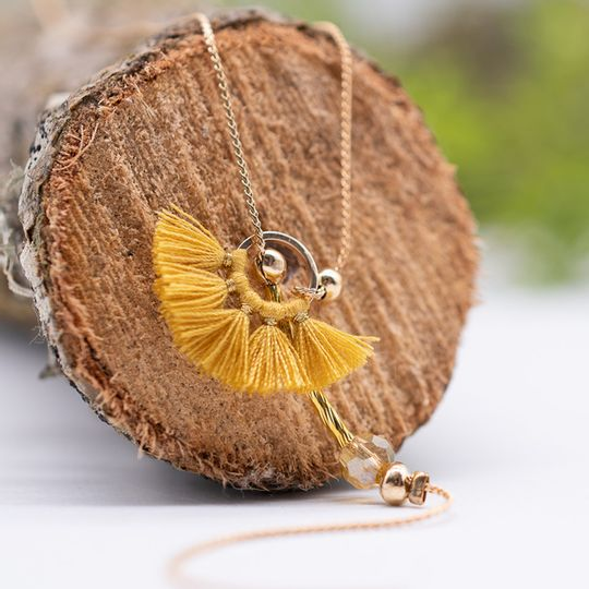Tassel Feeder Necklace