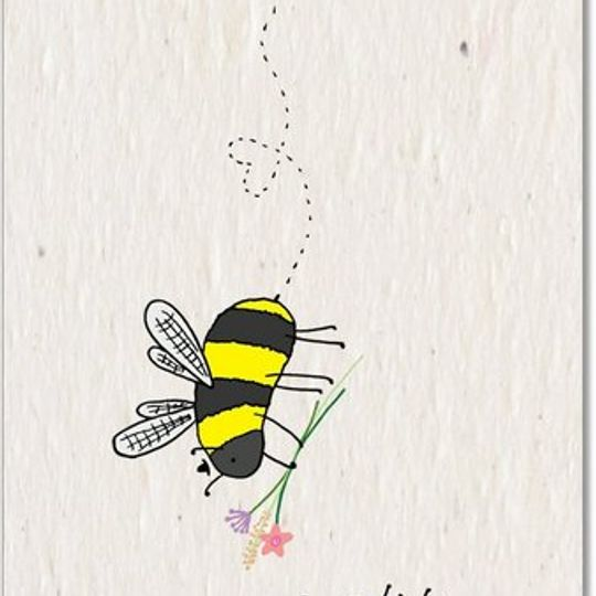 Greeting Card | Bee Love