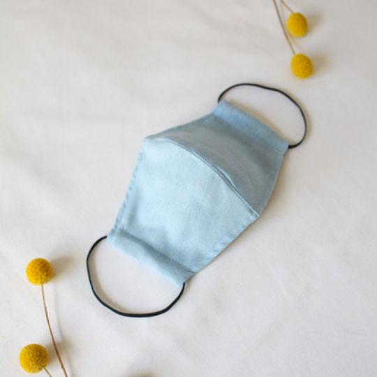 Blue Mask with Pocket