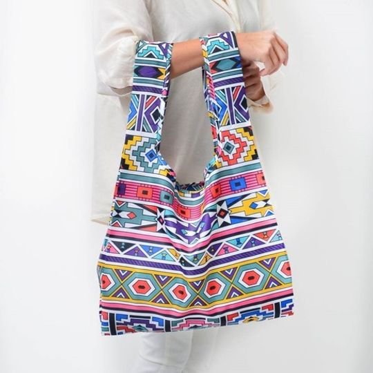 MyBaguse Ndebele Reusable Shopping Bag