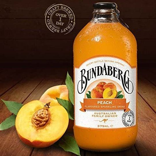 Bundaberg Peach drink (375ml)