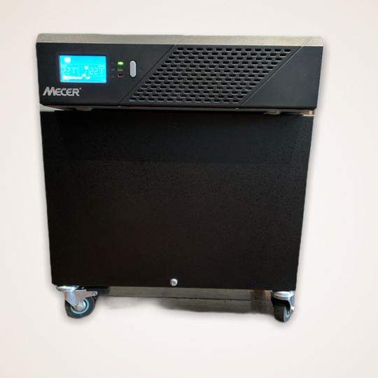 Mecer Inverter 720W, Battery & Metal Case on Wheels
