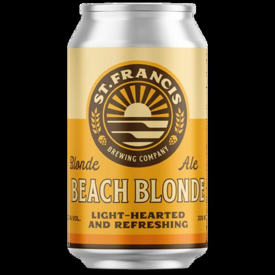 St. Francis Beach Blonde 330ml can