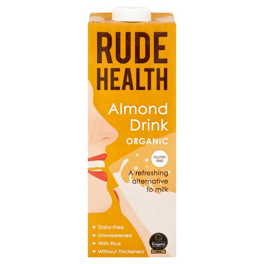 Rude Health Almond Drink 1l