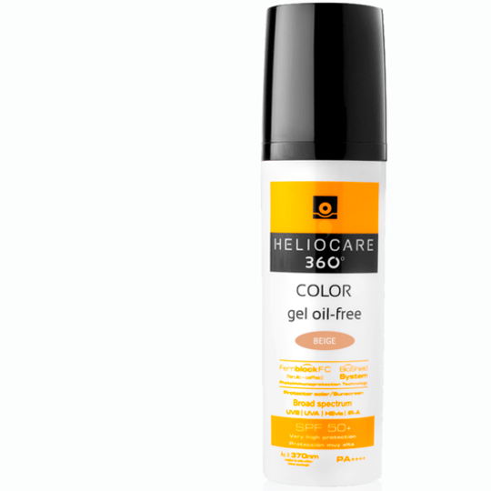 360° Color Gel Oil-Free SPF 50+ (BEIGE)