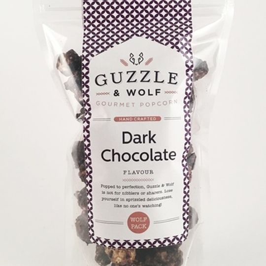 Guzzle & Wolf Dark Chocolate Popcorn