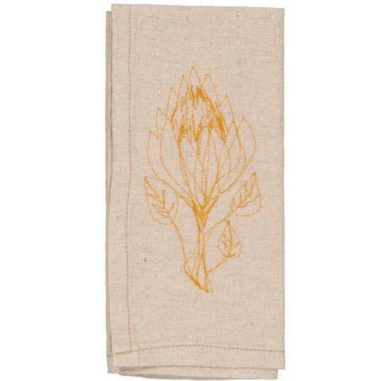 Hemp Protea Napkins (set of 4)