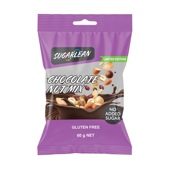 Sugarlean Chocolate Coated Nut Mix (60 g)