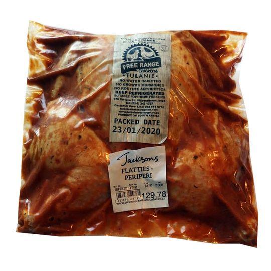 Chicken Flattie - Peri Peri  (+- 1.6kg)