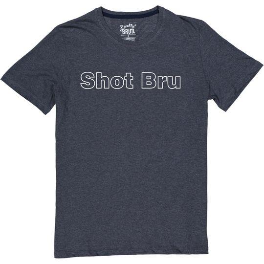 'Shot Bru' Mens Tee