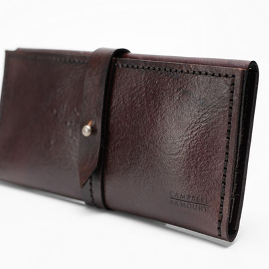 Ladies Wallet - Chocolate Brown