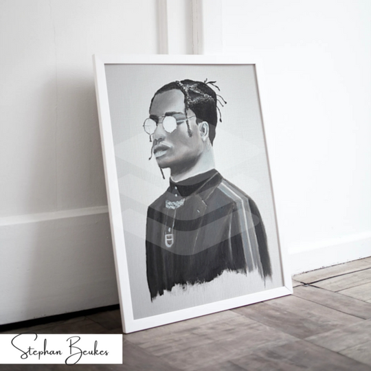 Man with Glasses | Original Prints on Fine Art Paper