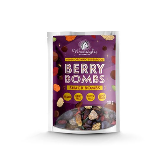 Wazoogles Superfood Snack Bombs - Berry Bombs 30g