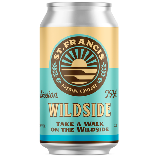 St. Francis Wildside Session IPA 330ml cans