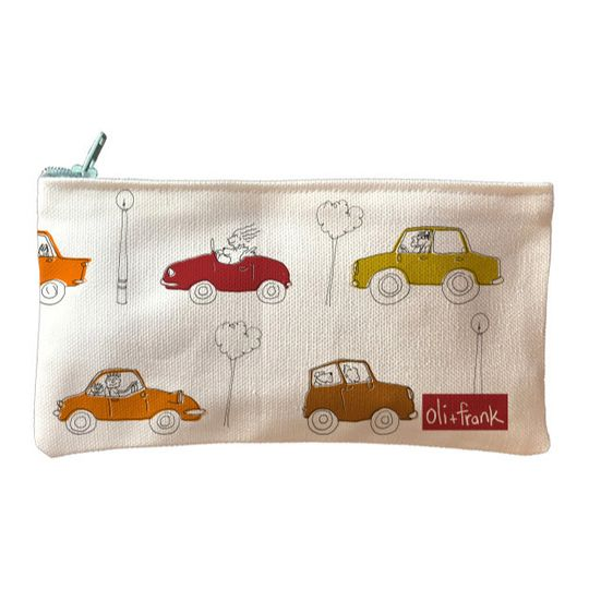 Traffic pencil bag