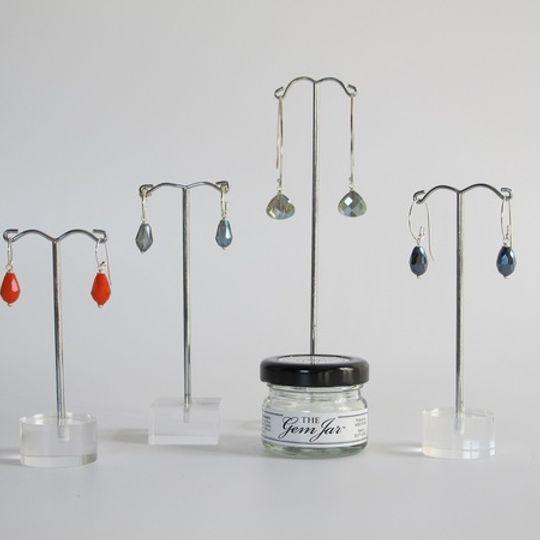 GEM JAR Crystal Teardrops
