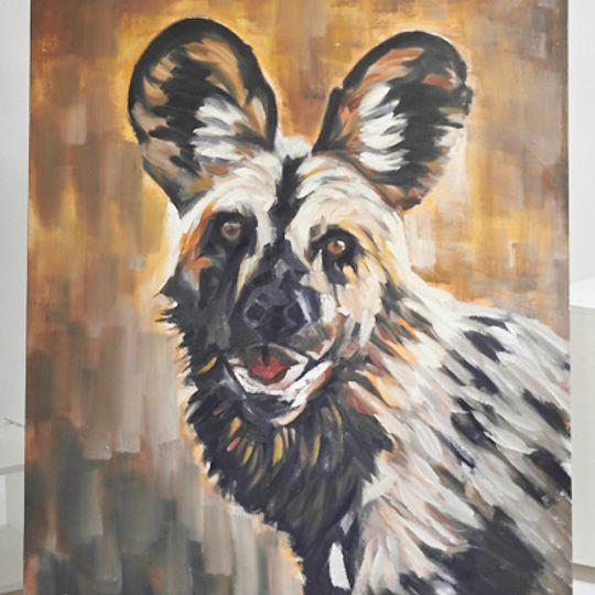 wild dog painting 2